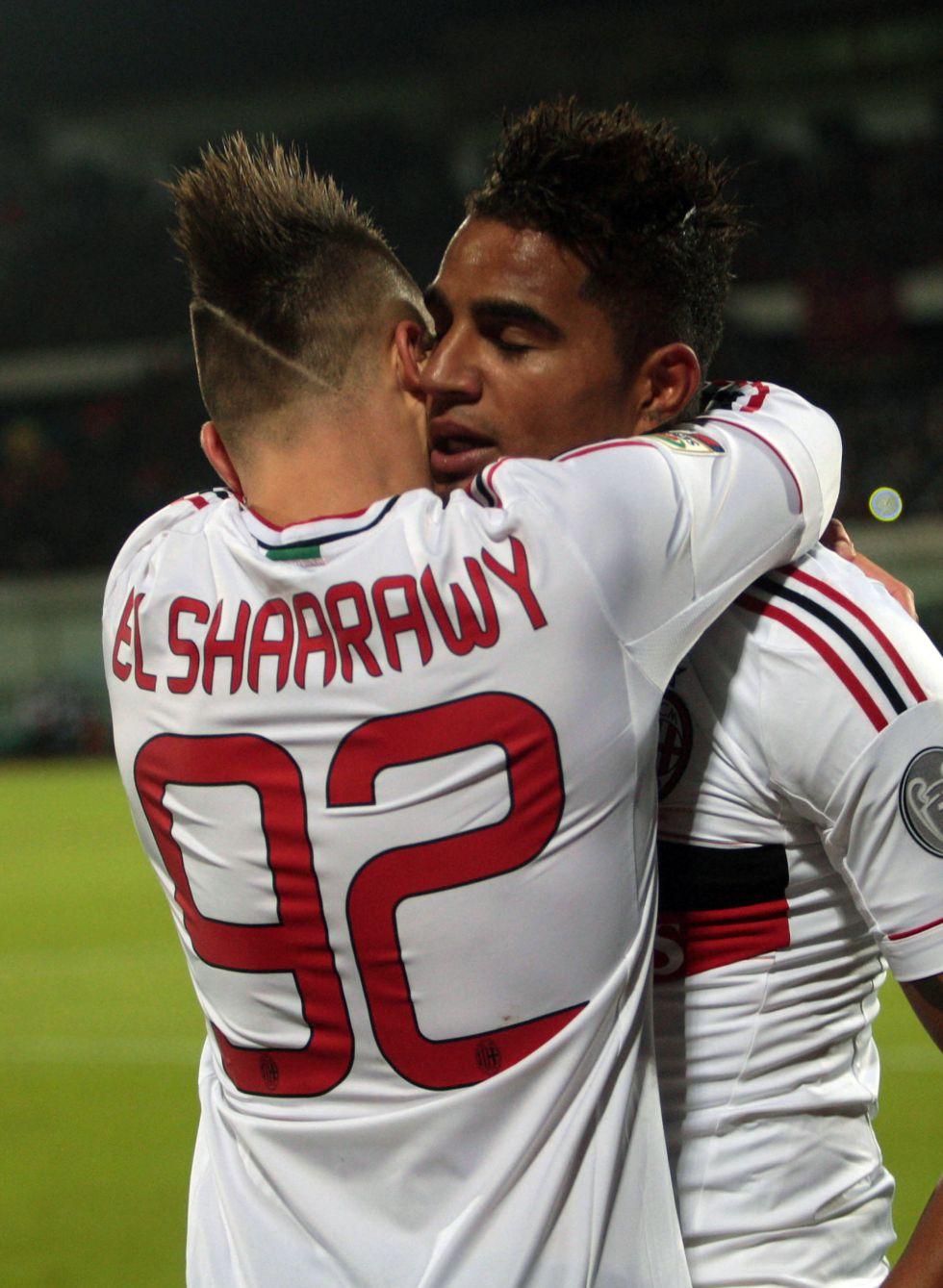 El Milán se agarra a El Shaarawy