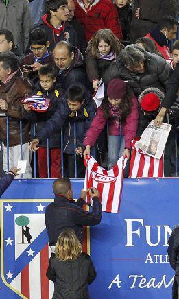 El Atlético abre las puertas a toda su afición antes del derbi