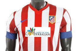 Azerbaiján figurará en la camiseta del Atleti en el derbi
