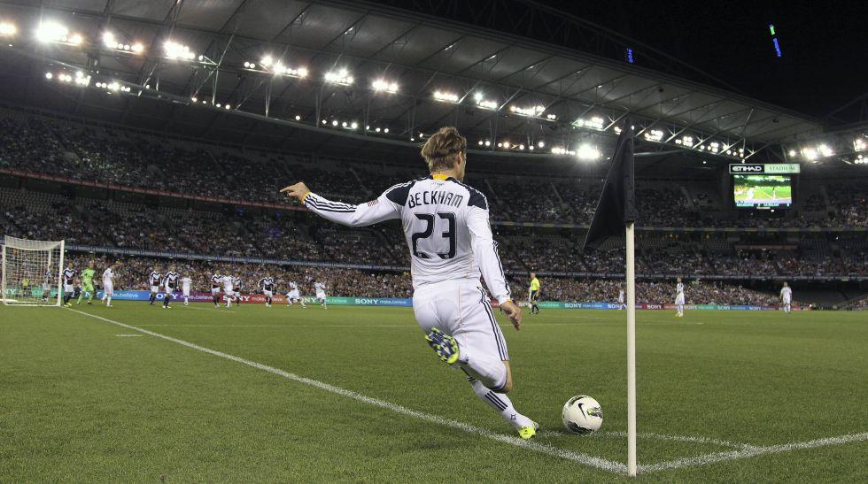 David Beckham se despide de la MLS como un gran negocio