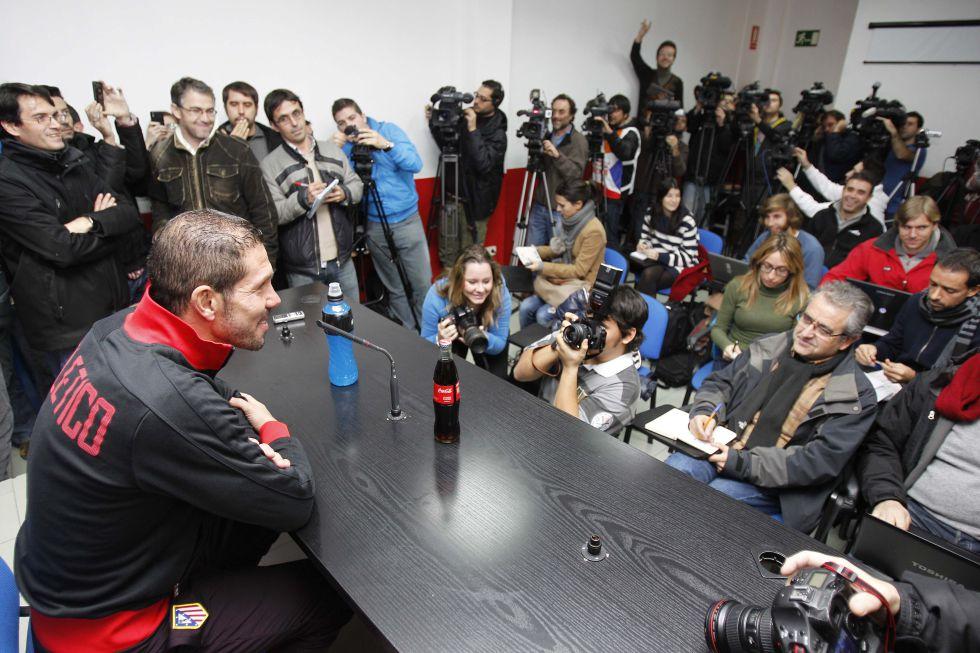 """Simeone: """"Mente, corazón y talento, indestructibles"""""""