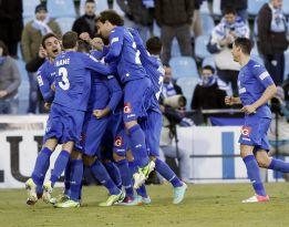 El Getafe doma al Málaga y llega a los puestos europeos