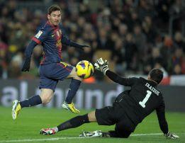 Mateu concede el 2-0 a Messi, que ya está a uno de Müller