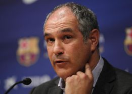 Zubizarreta: &quot;Da tranquilidad ver el derbi despus de ganar&quot;