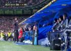 El 'Mono' Burgos se encaró con el banquillo del Real Madrid