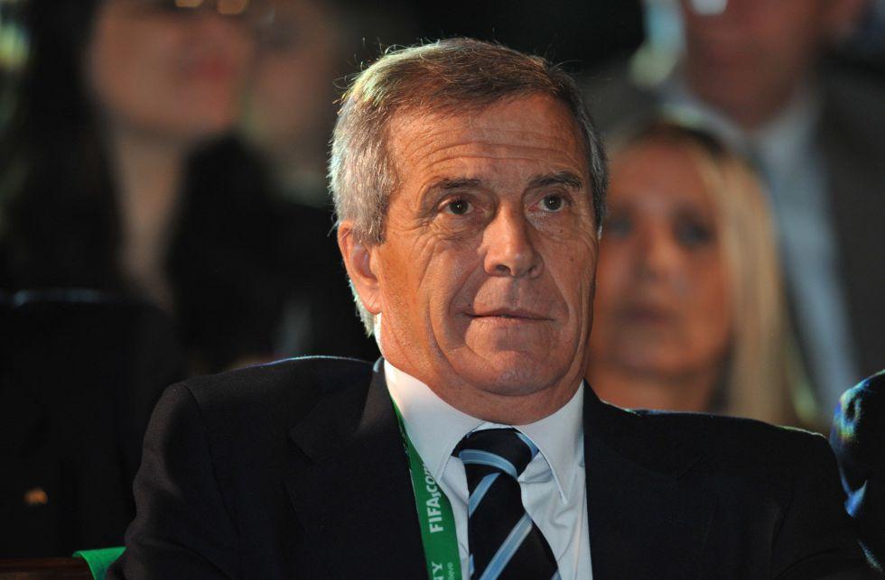 """Tabárez: """"España es el rival más difícil que hay en toda la Copa"""""""