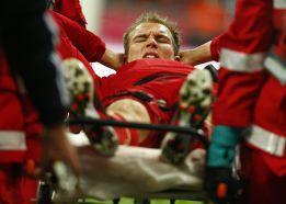 Badstuber, operado de la rodilla, será baja durante cinco meses