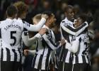 El Newcastle se impone con facilidad a un Wigan debilitado