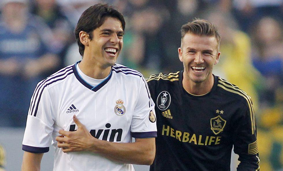 """Beckham: """"Los Galaxy harían cualquier cosa por Kaká..."""""""