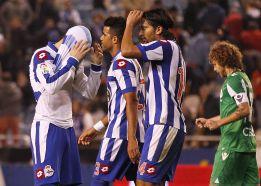 El Deportivo entrena sin seis de sus jugadores para ir al Calderón