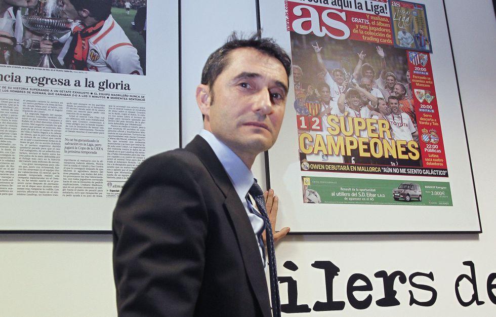 Valverde firma hasta el 30 de junio por el Valencia