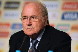 """Blatter: """"Me impactó mucho la noticia de la muerte del linier"""""""