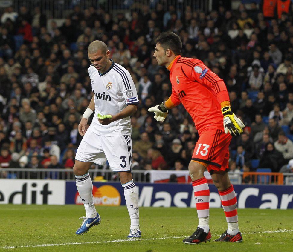 """Pepe: """"Lo importante es jugar con amor a la camiseta"""""""