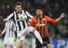 La Juventus arrebata al Shakhtar la primera plaza