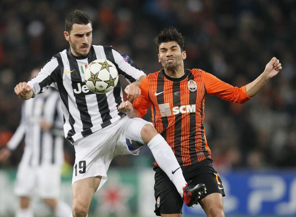 La Juventus arrebata al Shakhtar la primera plaza del grupo