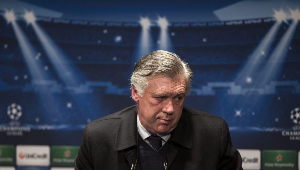 "Ancelotti se confiesa: ""Mou es una guillotina sobre mi cabeza"""