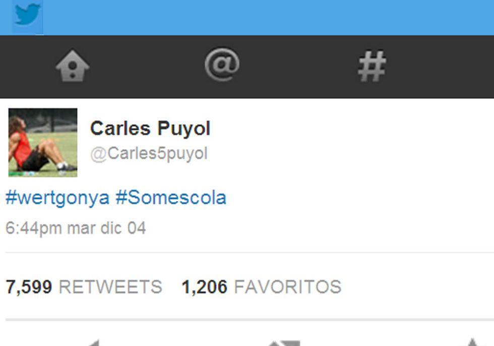 Puyol critica al ministro Wert por la reforma del catalán