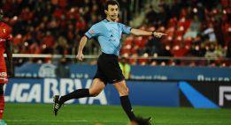 Pérez Lasa arbitrará el Barcelona-Atlético de Madrid