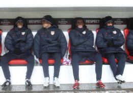 El Atlético viaja hoy preparado para combatir el intenso frío