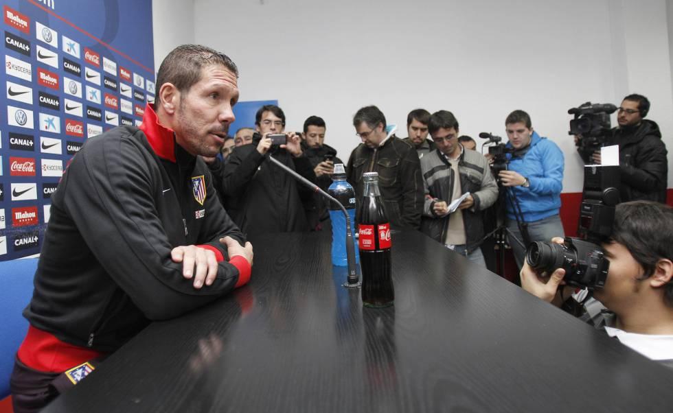 """Cholo Simeone, tras el derbi: """"El equipo está bien anímicamente"""""""