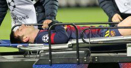 Cunde el pánico en el Camp Nou por la lesión de Leo Messi