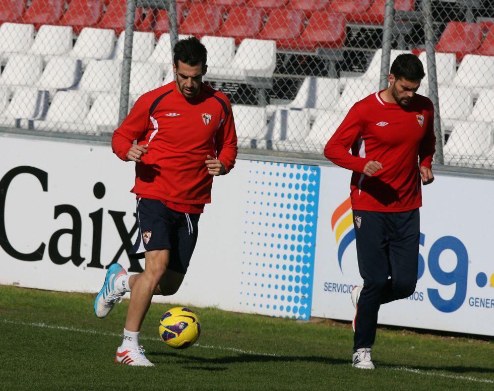 Negredo regresa a la lista para el choque ante el Espanyol