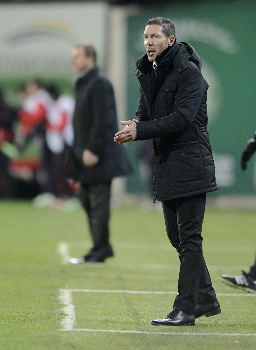 """Simeone: """"Hubo un tumulto, no sé qué paso con Diego Costa"""""""