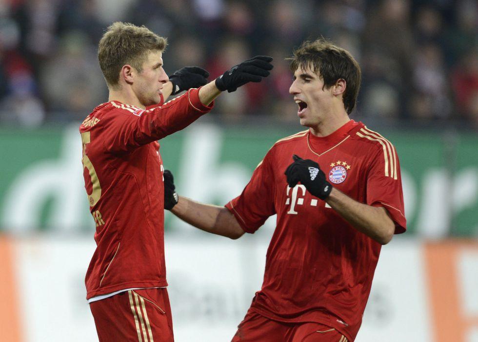 El Wolfsburgo sorprende al Dortmund y el Bayern no falla