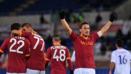 Totti lidera el triunfo de la Roma