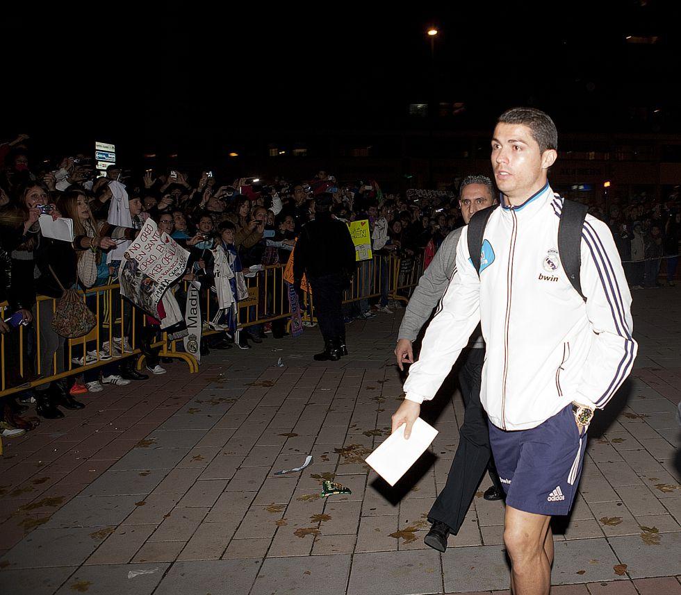 Contra la ambición de Cristiano buen fútbol del Valladolid