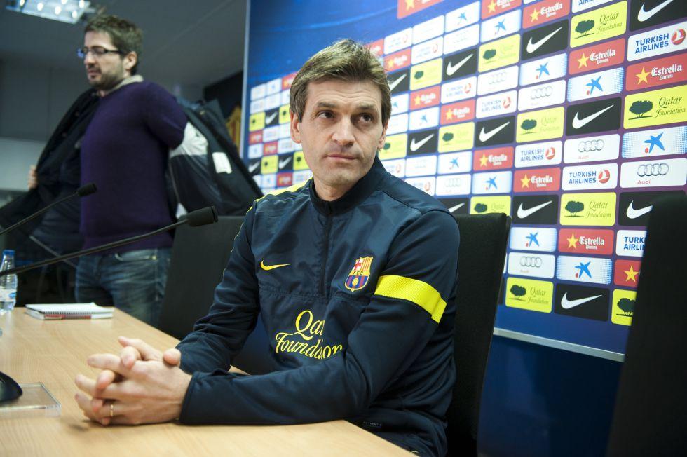 """Vilanova: """"Messi viaja, y si viaja es porque está para jugar"""""""