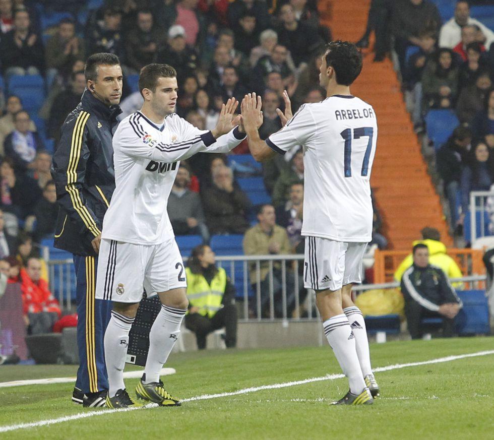 Nacho y Callejón, titulares contra el Valladolid en Zorrilla