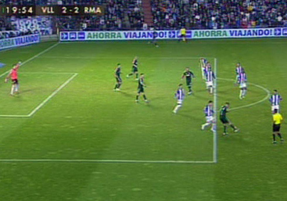 Pérez Montero le anuló un gol legal a Sergio Ramos con 2-2