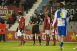 "Matilla al árbitro del Sabadell - Real Murcia: ""Te voy a matar"""
