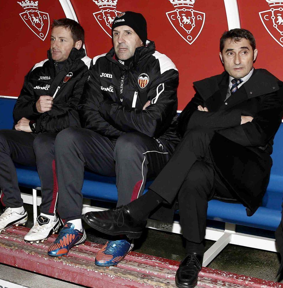 """Ernesto Valverde: """"Los jugadores han dado un paso al frente"""""""