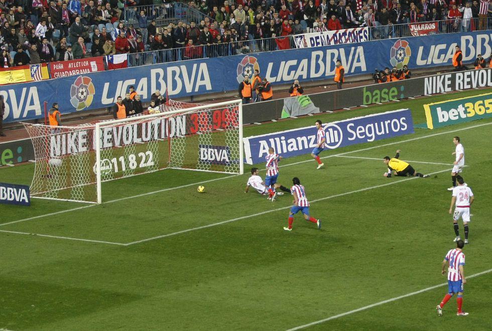 El Atlético de Madrid es el mejor de la Liga en su estadio