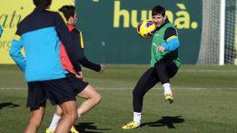 Leo Messi vuelve a escena