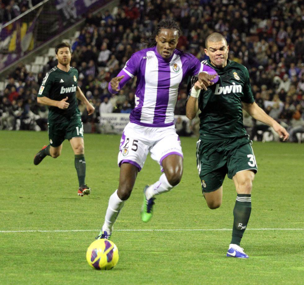 Pepe sumó ante el Valladolid su victoria número 100 en la Liga