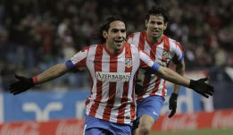 Falcao iguala a Vav, que hizo cinco goles con el Atleti en el 58