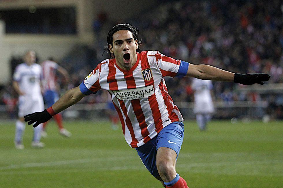 Falcao saca de dudas al Atlético con su histórico repóker de goles