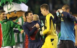 Messi culmina una dura faena