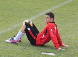 Piti, ausente ante el Zaragoza por molestias musculares