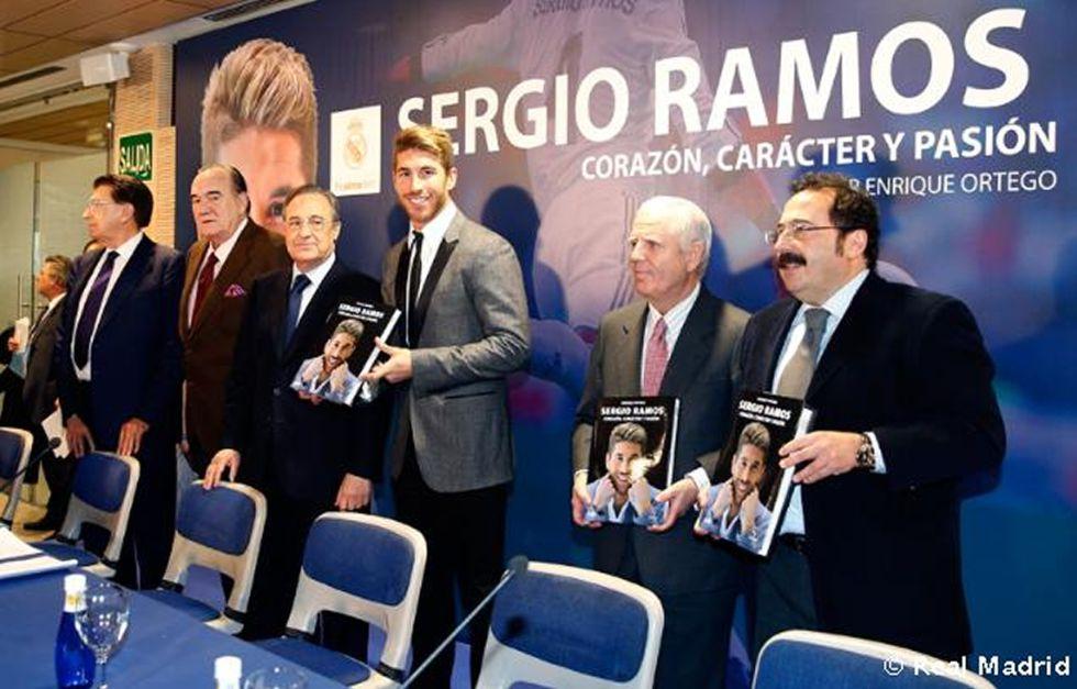"""Florentino Pérez: """"Ramos es un nuevo referente del Madrid"""""""