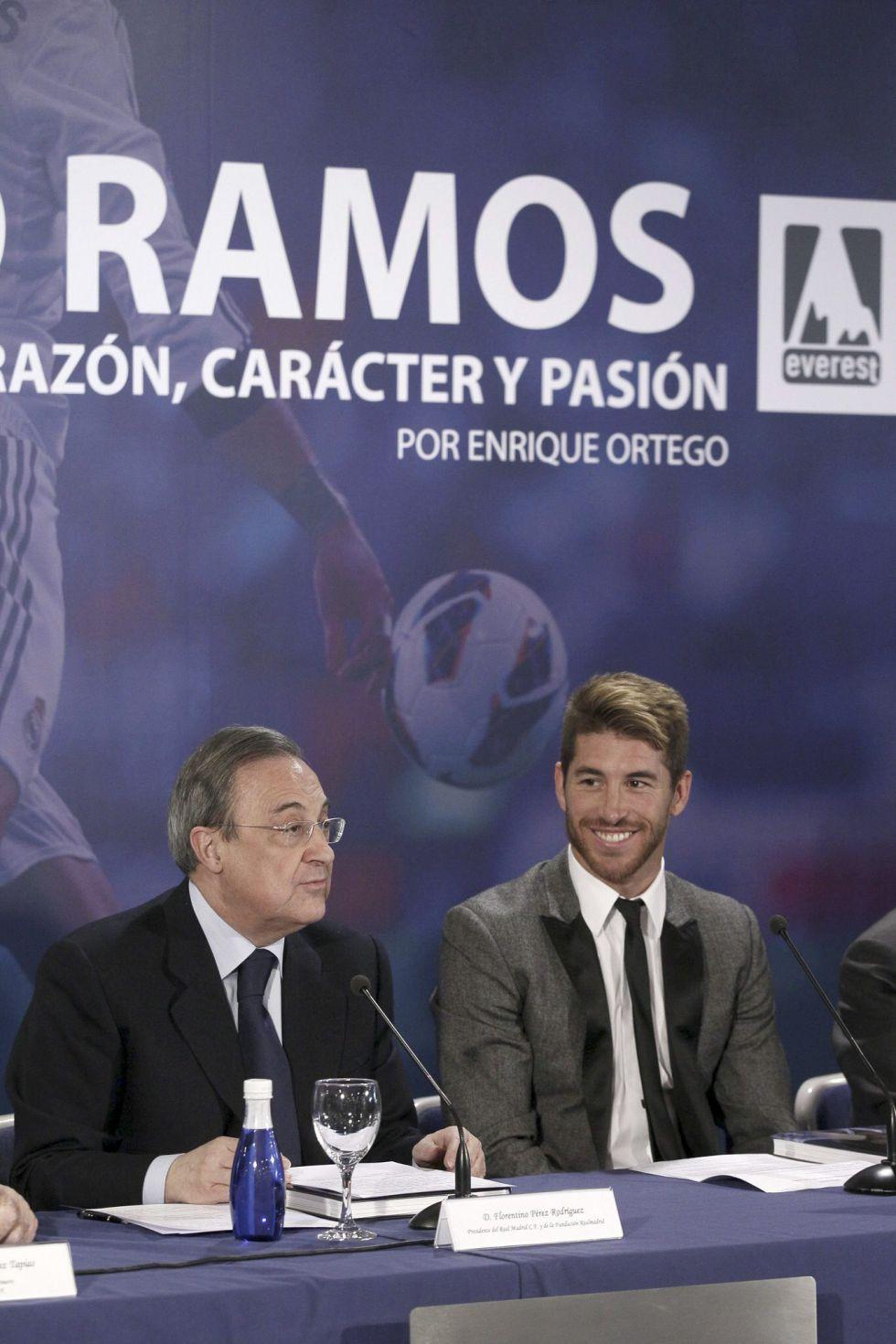 """Sergio Ramos: """"Ojalá pueda retirarme en el Madrid"""""""