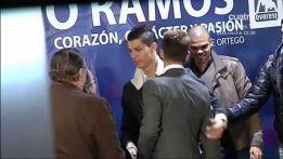 Reencuentro entre Florentino Pérez y Cristiano Ronaldo
