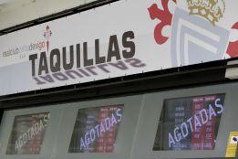 Balaídos cuelga el cartel de ''no hay billetes'' para ver al Madrid