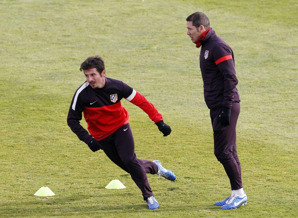 """Simeone: """"Ante el Getafe no se puede resolver en un partido"""""""