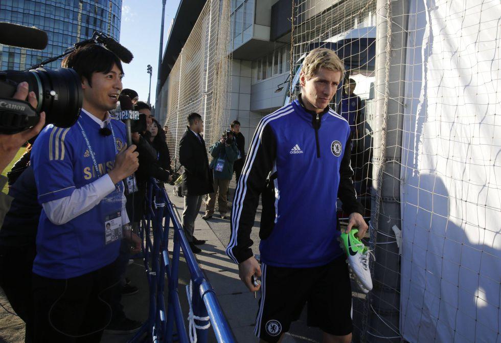 "Benítez: ""Torres está mejor porque creamos ocasiones"""