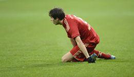 Susto de Javi Martínez en el entrenamiento del Bayern