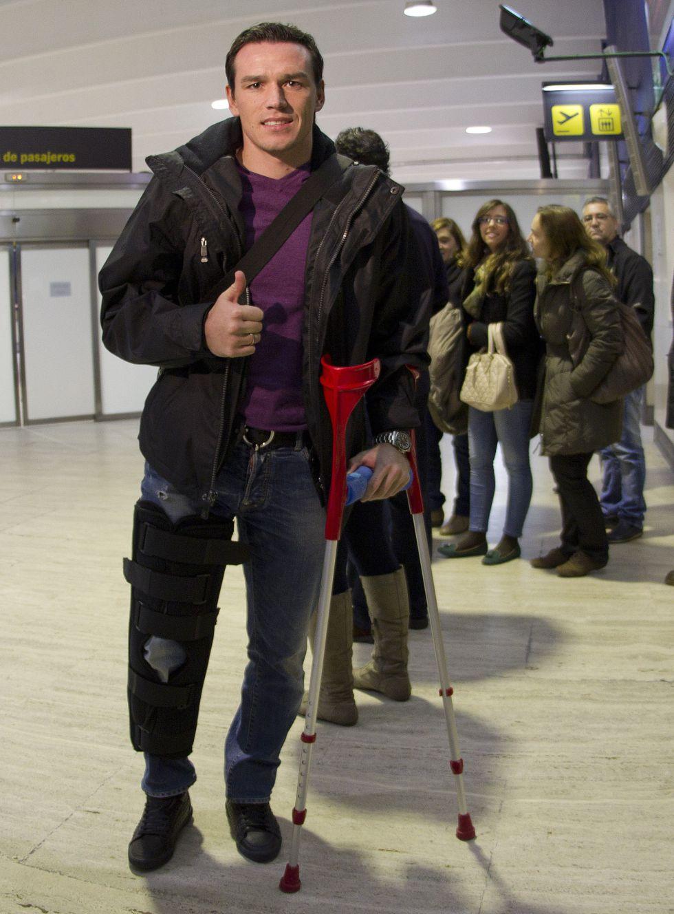 Trochowski inicia en Sevilla la segunda fase de su recuperación